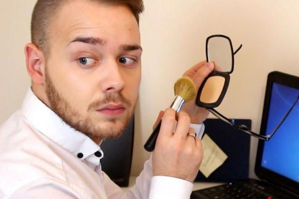 Jake Jamie Ward Transforms Chris's Complexion Forever with his Makeup For Men Tutorials